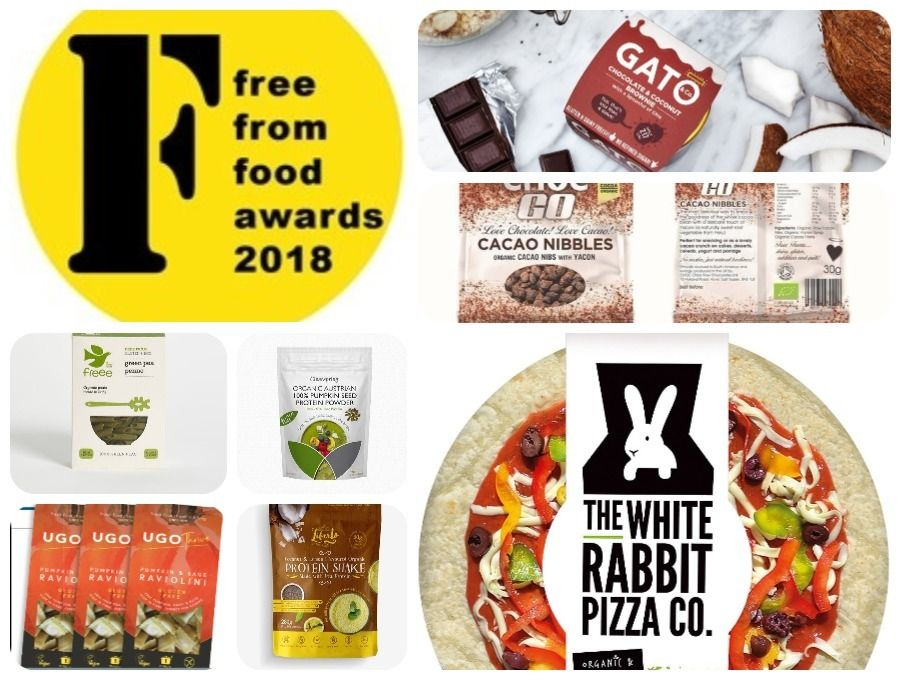 Free From Food Awards 2018 Top Picks ⋆ Forever Free From