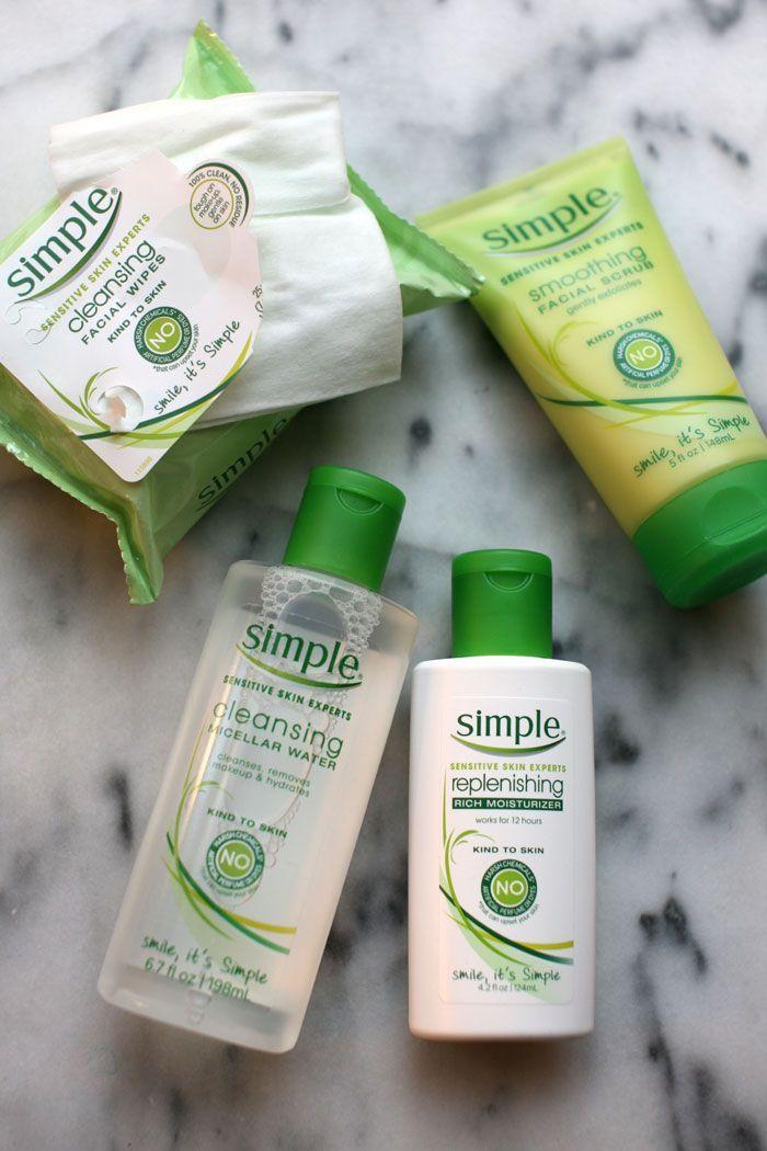 Drugstore Beauty Keep It Simple The Stripe Simple Skincare Beauty Products Drugstore Skin Care