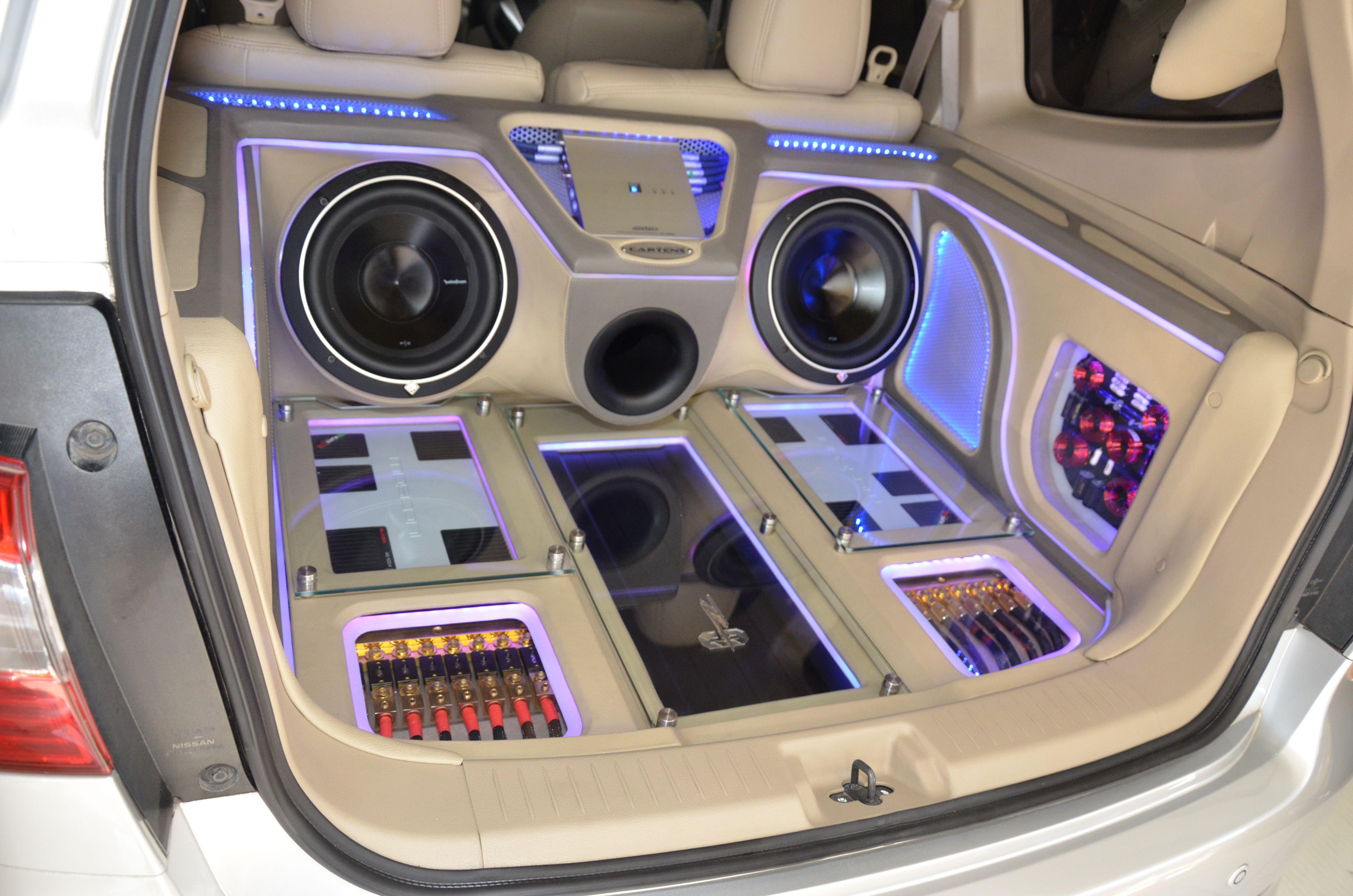 In Trunk Car Audio Design Cartensaudio Car Audio Car Audio Installation Car Audio Systems
