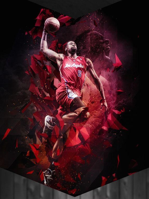 DeAndre Jordan Clippers Art