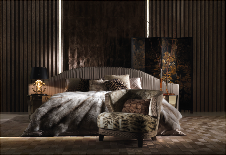 Dolfi mobili ~ Arise refreshed in the sharpei bed from the roberto cavalli home