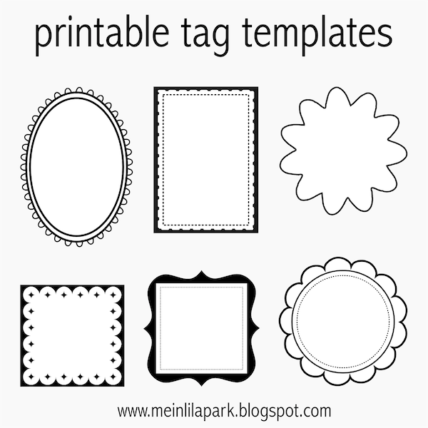 free printable tag templates for diy tags ausdruckbare etiketten freebie