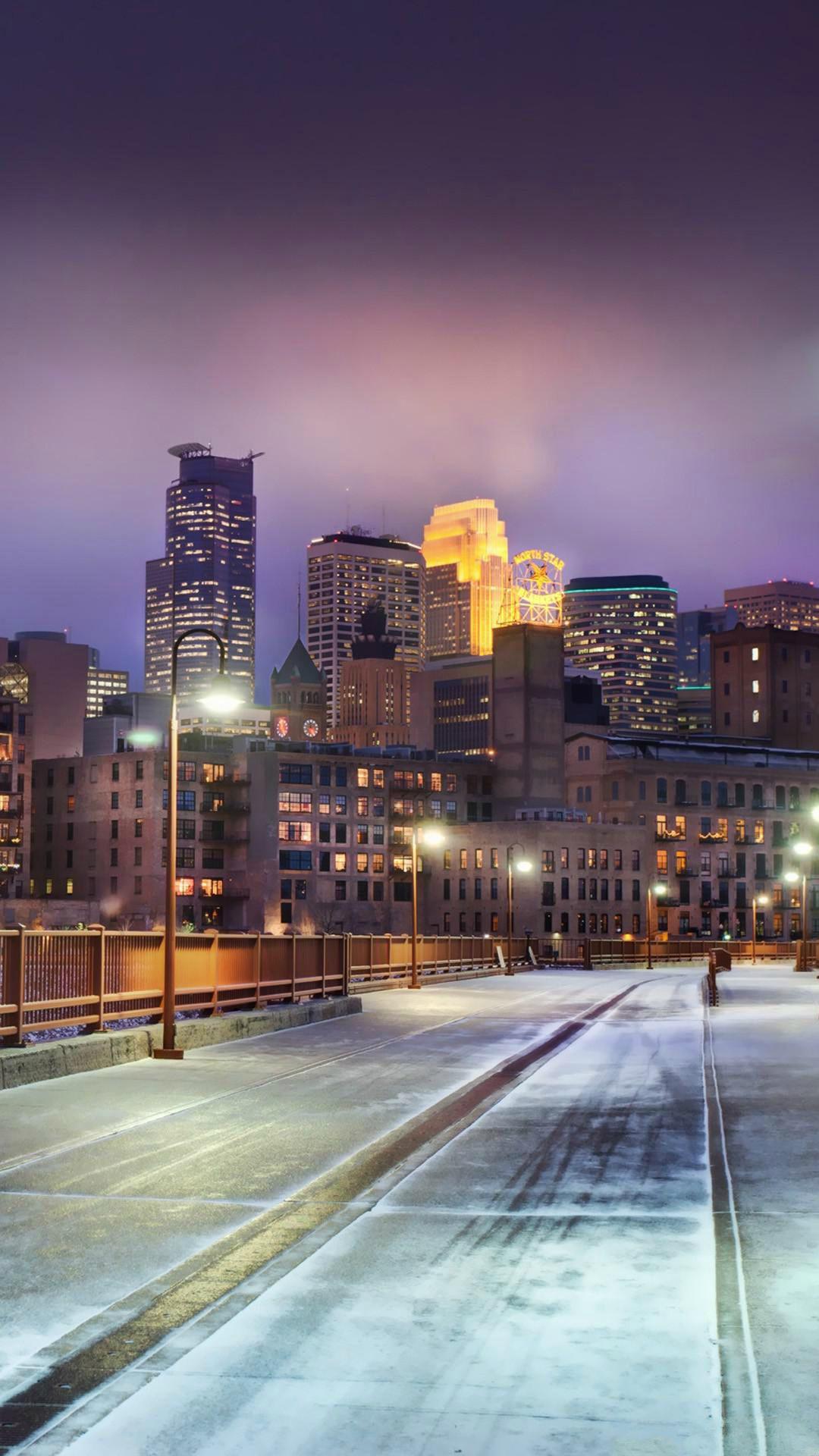 Wallpapers creative arts, waterway, chicago, skyline