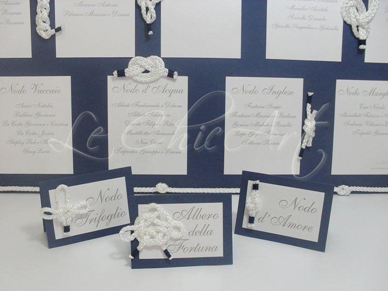 Segnaposto Matrimonio Nodi Marinari.Nodi Marinari Tableau De Mariage Segnatavolo Per Matrimoni