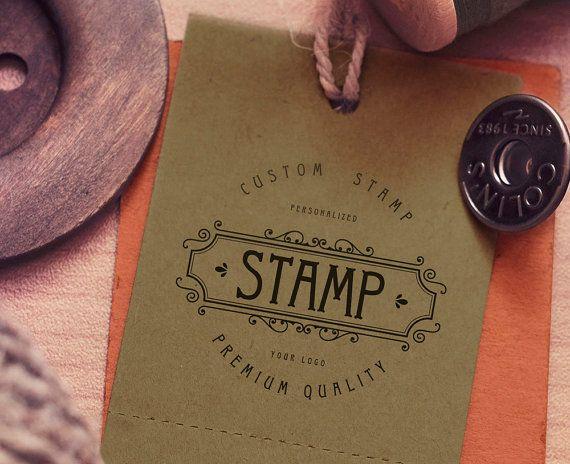 Scrapbooking Card Making Business logo stamp Custom Business stamp logo stamp Custom logo Stamp 2x2 Photopolymer Stamp Paper-Crafting