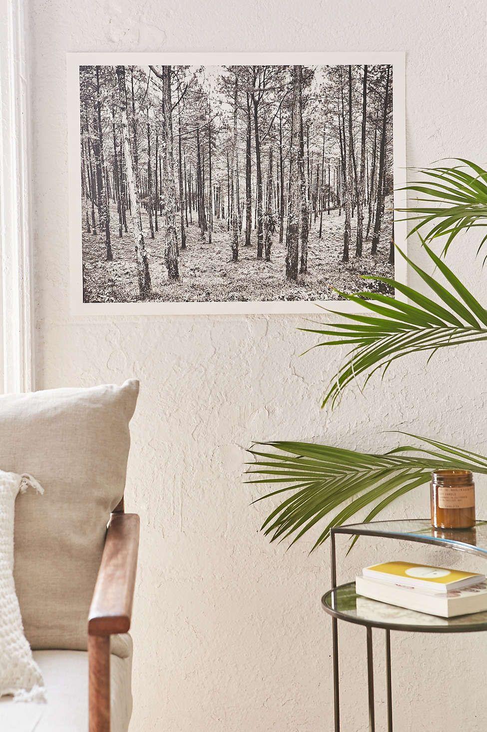 Aaron Morris Black + White Art Print - Urban Outfitters