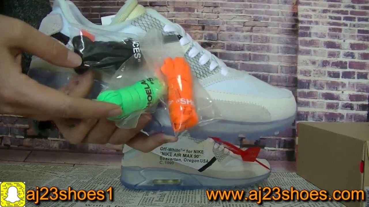 Off White Nike Air Max 90 Review The Ten