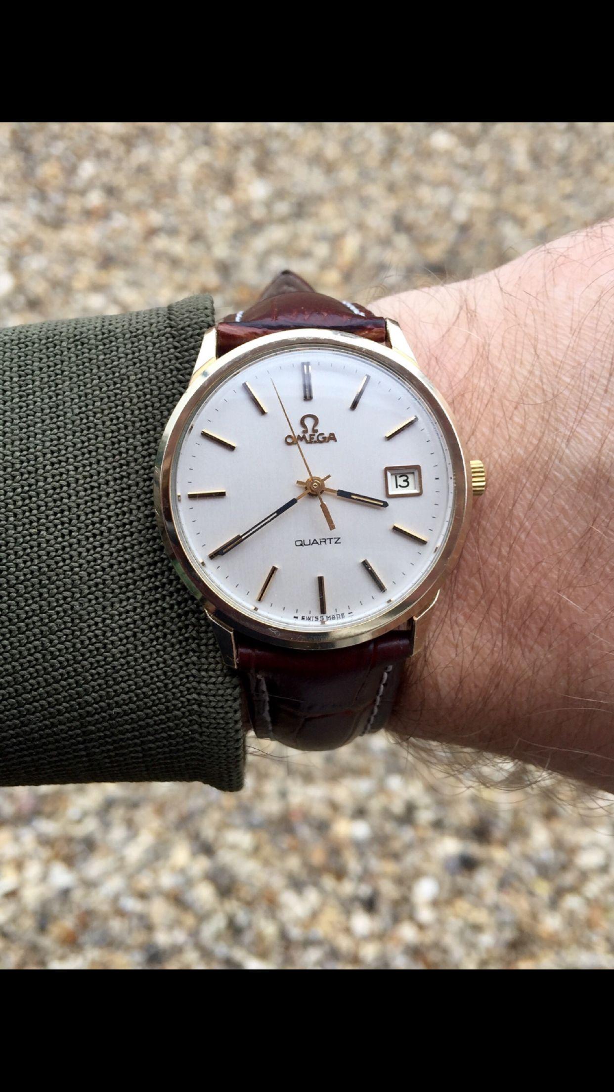 1cd44be8239 Omega Quartz Cal 1370 vintage watch 1978