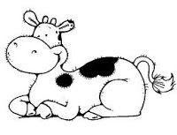 Pin En Vacas Para Imprimir