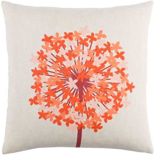 Agapanthus Red And Orange 40Inch Pillow Cover Pillows And Products Awesome 22 Inch Pillow Covers