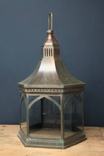 Large steel Hall Lantern