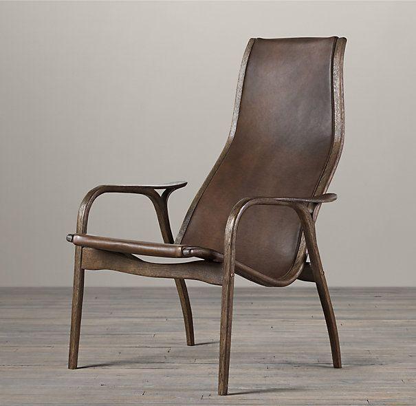 Larsson Leather Chair Rh Restoration Hardware Lounge Chair Chair