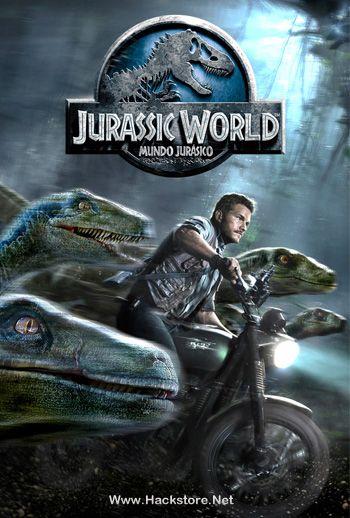 Poster de Jurassic World: Mundo Jurásico (2015) Blu-Ray RIP HD ...