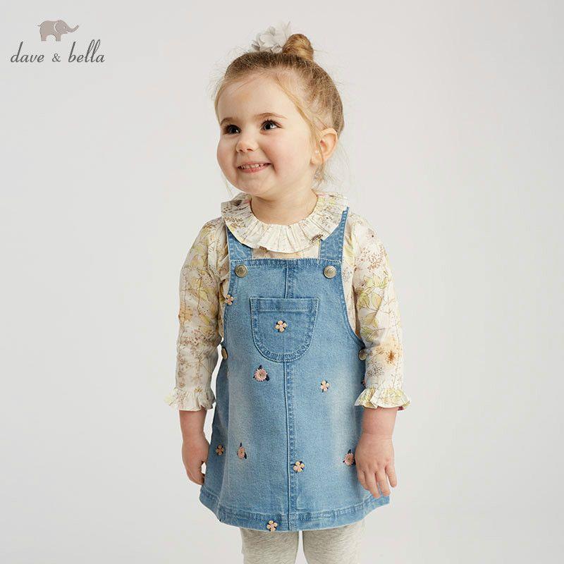 5646d92c2 DBM9492 dave bella baby floral Dress girls sleeveless spring dresses kids  girls dress children birthday party
