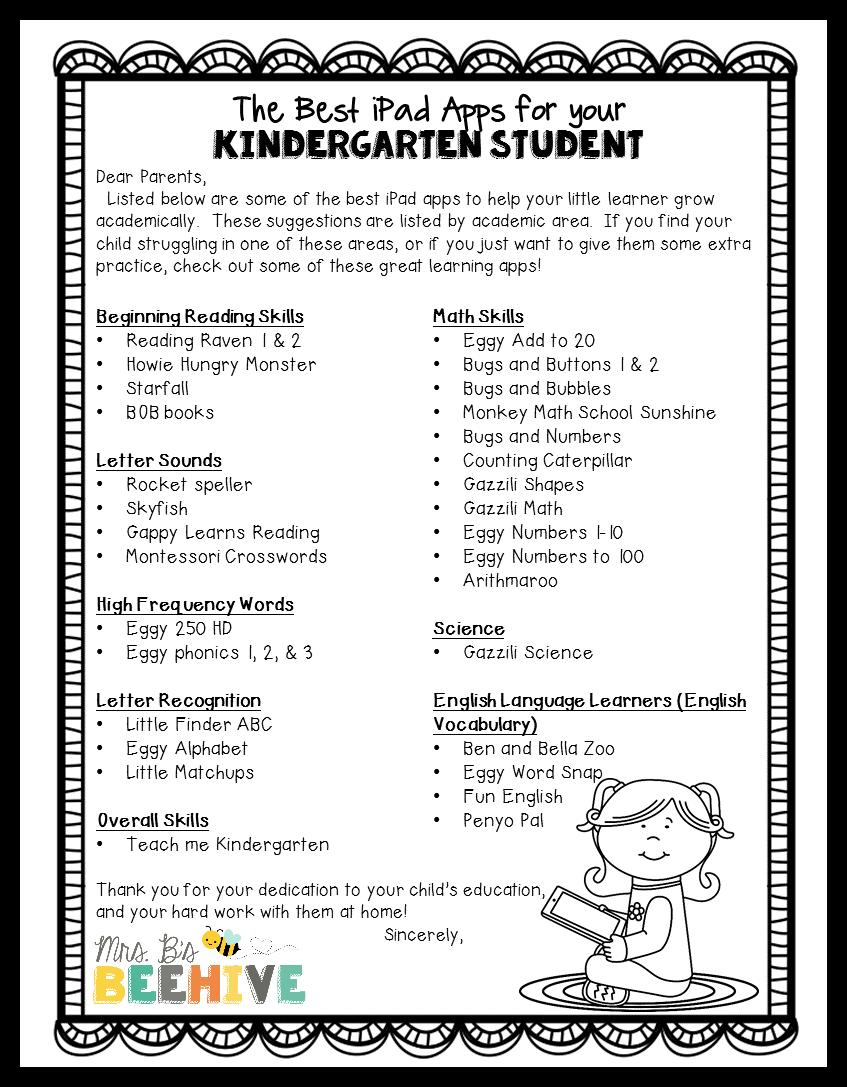 The 30 Best Ipad Apps For Kindergarten Kindergarten Technology Homeschool Kindergarten Kindergarten Apps [ 1087 x 847 Pixel ]