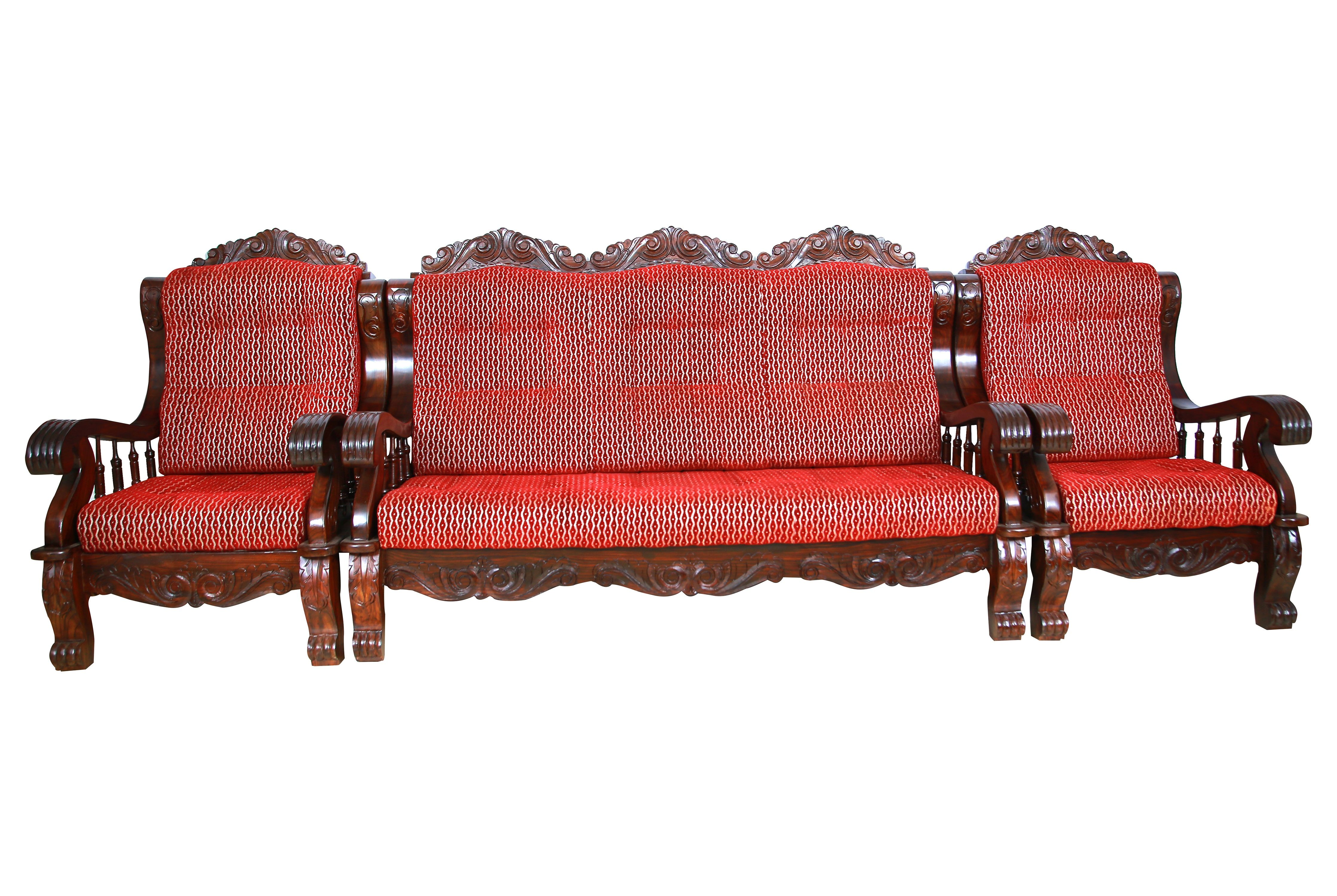 Jaipur Rosewood 3 Seater Sofa Wooden Sofa Set Wooden Sofa Set Designs Iron Door Design