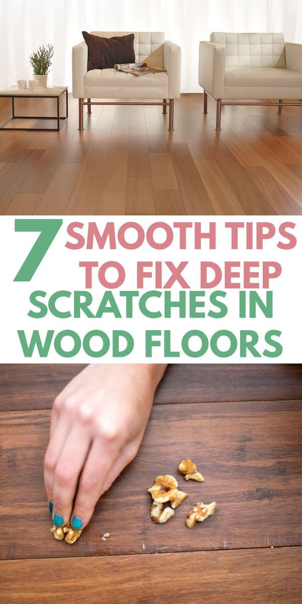 7 Sleek Wood Floor Scratch Repair Tips