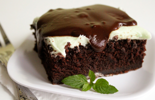 Black Magic Chocolate Grasshopper Cake