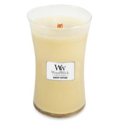 WoodWick™ Bakery Cupcake 22-Ounce Jar Candle - BedBathandBeyond.com