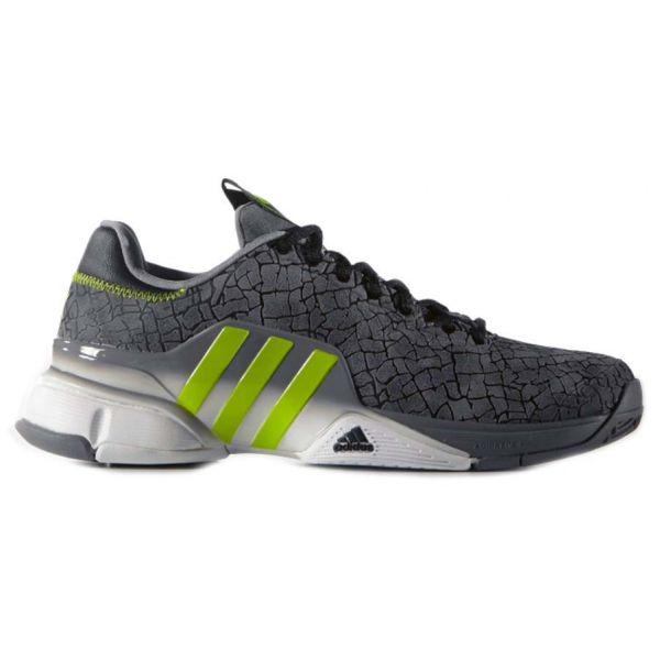 adidas uomini barricata 2016 annibale scarpe da tennis (grey / solare verde