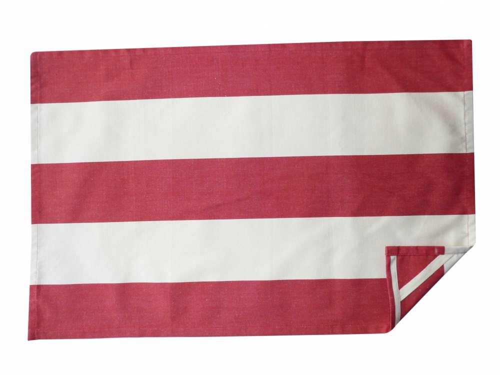 Red Stripe Tea Towels Juggling Stripe Striped Fabrics Tea Towels Striped Roller Blinds