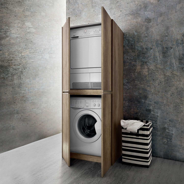 Blizzard Hochschrank Fur Die Waschkuche Schrank Waschmaschine