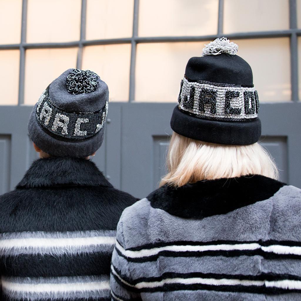 Marc Jacobs x Yestadt Millinery - Beaded Hat