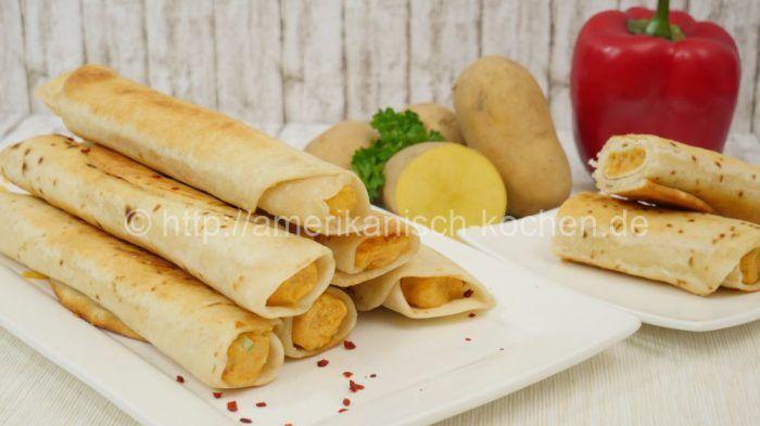 Taquitos mit Kartoffelfüllung I How to make Potato Cheese