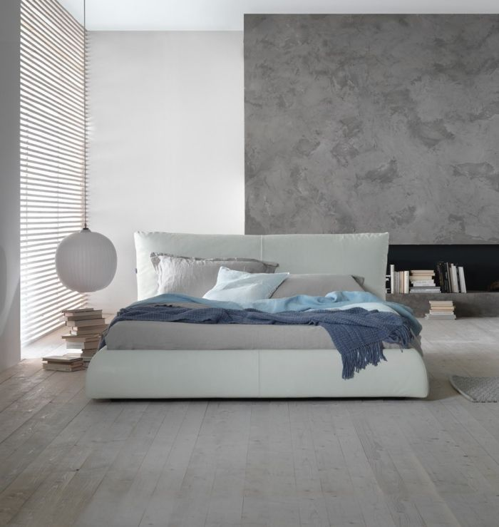 ideen zum schlafzimmer streichen - tolle techniken & bilder ... - Ideen Wnde Gestalten Schlafzimmer