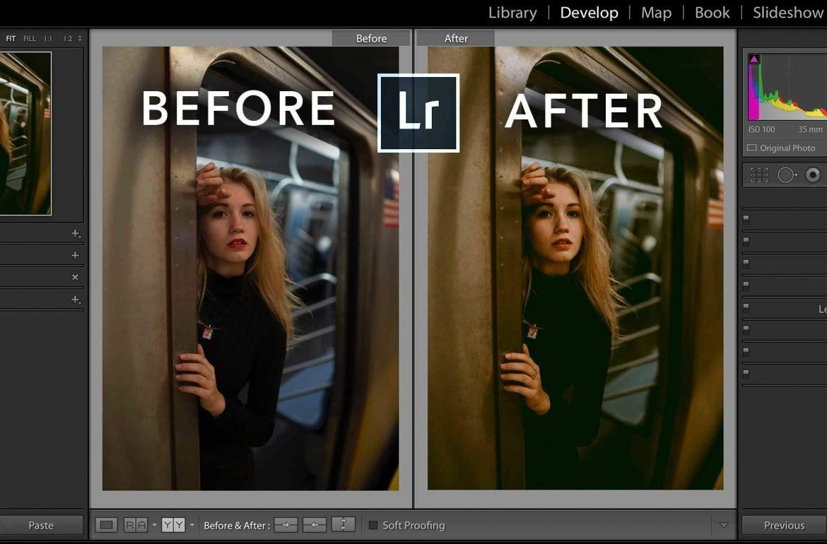 Before and after shortcut lightroom