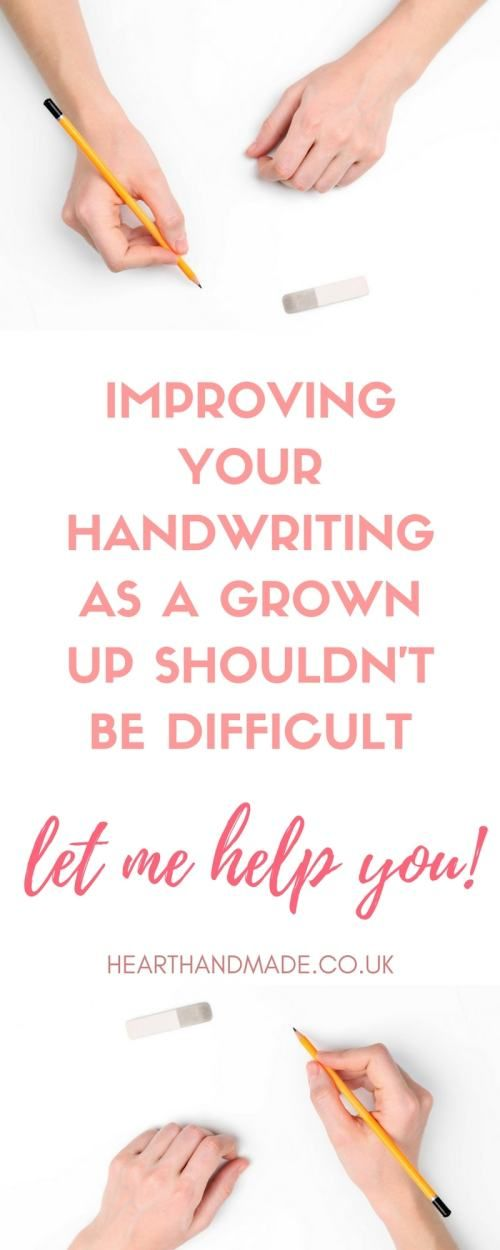 A Guide To Improve Your Handwriting Skills For Adults Bible