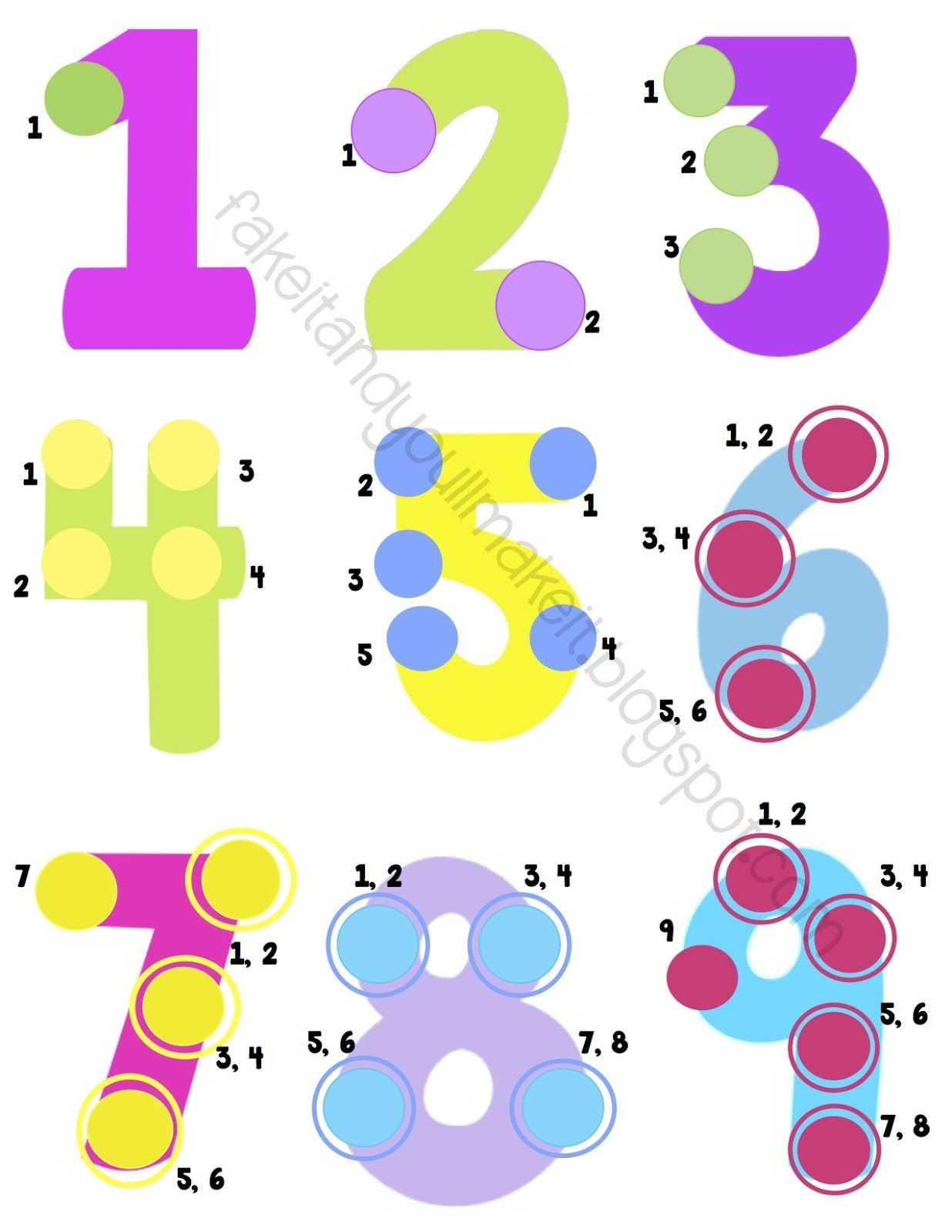 Touch Points Math Posters Bookmarks And Desk Reference