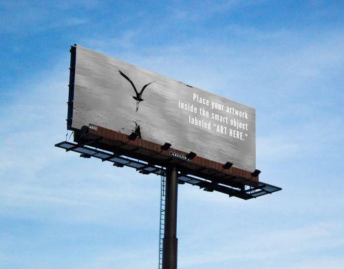 Free Billboard Mockup | Graphics | Pinterest | Mock up, Billboard ...