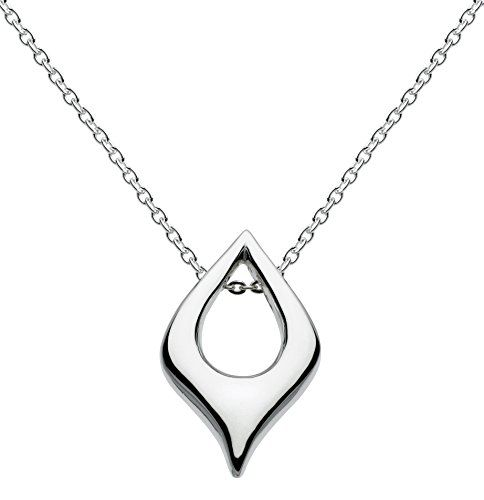 Kit Heath Women's Sterling Silver Lust Heart Necklace of Length 18 inch qPeuLaXF8r