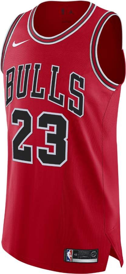 the latest b1a23 6baaf Nike Michael Jordan Icon Edition Authentic Jersey (Chicago ...