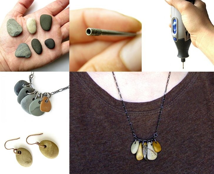 Photo of How to Make Drilled Natural Stone Jewelry – DIY & Crafts – Handimania