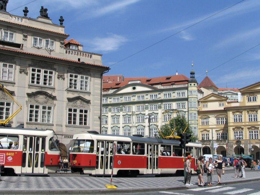 Plaza de Mala Strana en Praga