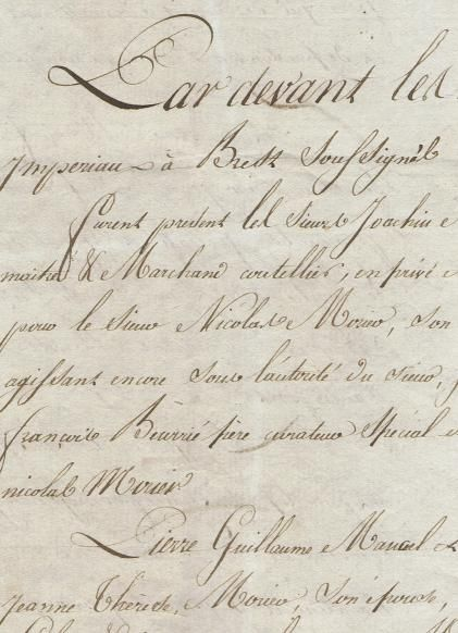 French letter from april 30 1813 very calligraphic writing in french letter from april 30 1813 very calligraphic writing in personal correspondence spiritdancerdesigns