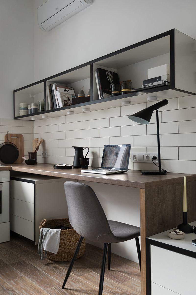 Odessa, le studio rénové et fonctionnel de 15m15 conçu par Fateeva