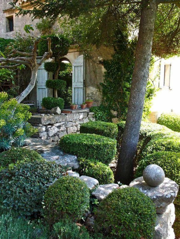 Wundervoll Mediterran Garten Gestalten Subtropisch Wetter