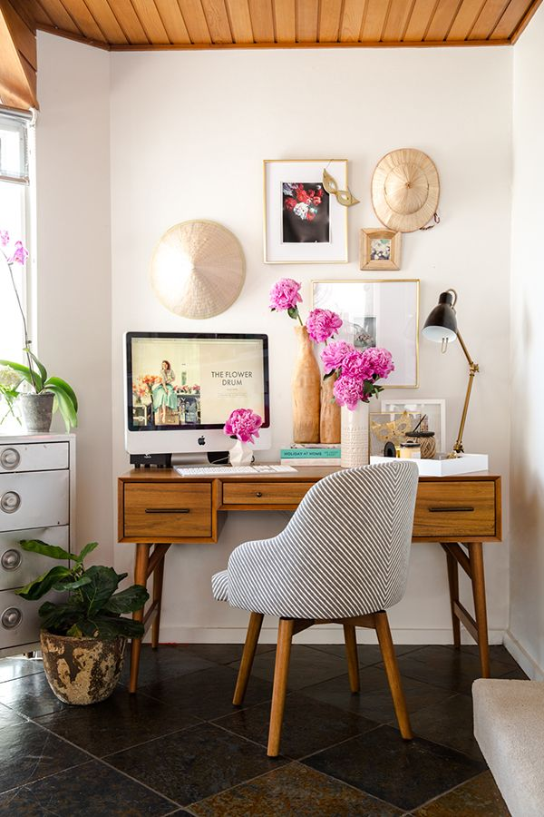 INTERIOR SCOUT: An eclectic home office makeover   Kleine wohnung ...