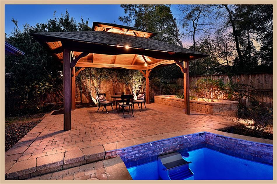 19 CAULFIELD CT THE WOODLANDS, TX 77382 Photo Spa pool
