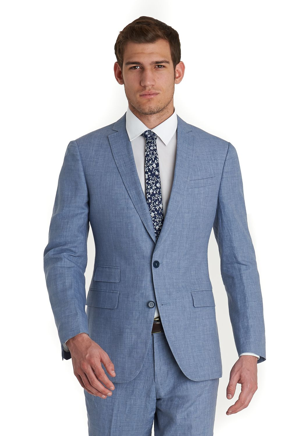This French Connection slim fit mix and match suit jacket is single ...