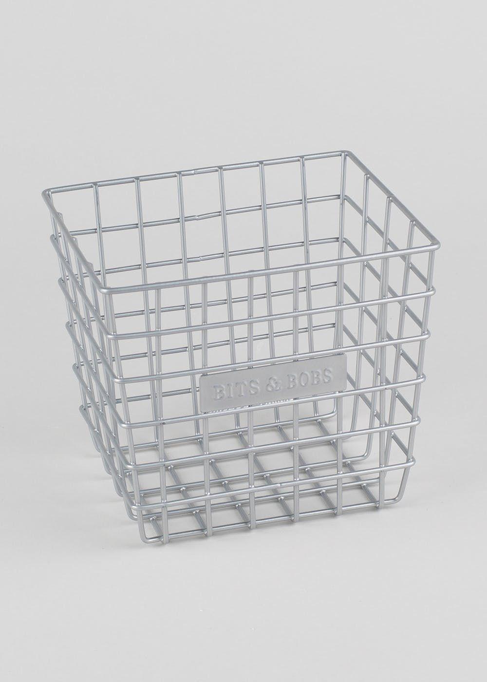 Homeware Wire Basket Storage Home Furnishing Accessories Wire Storage