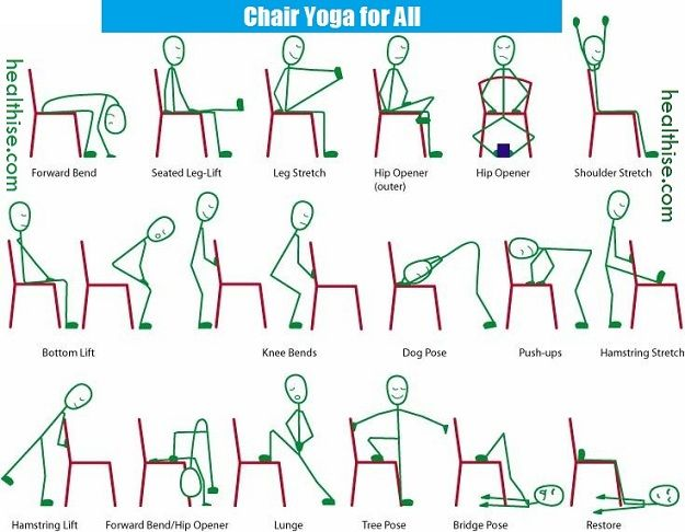 Chair Yoga Poses Seniors Juniors Joint Pain Patients