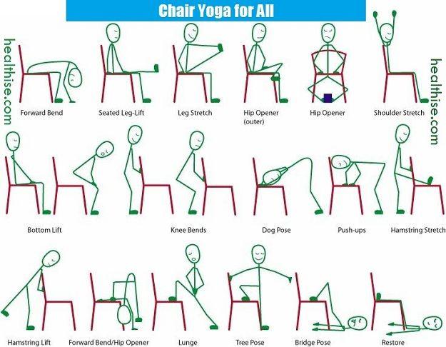 Chair Yoga For Seniors Swivel Rocker Recliner Poses Juniors Joint Pain Patients