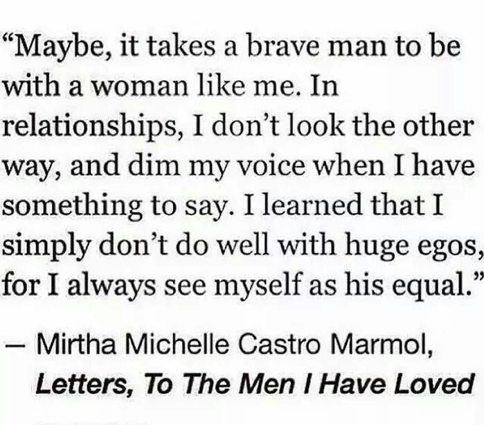 To The Men I Have Loved....