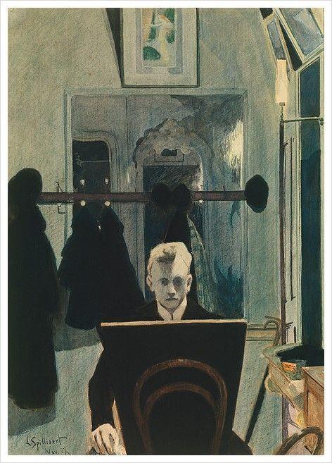 Leon Spilliaert.1907