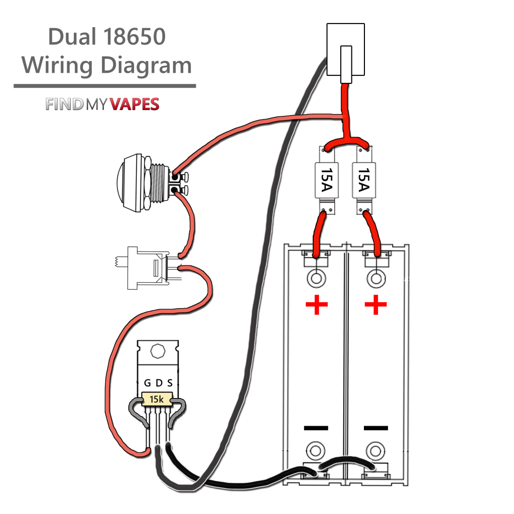 dual 18650 wiring diagram