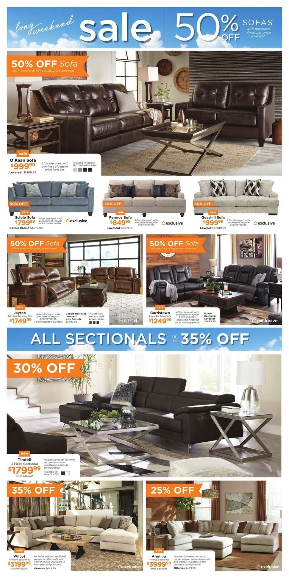 Flyer ASHLEY HOMESTORE (ON) Canada from Thursday May 17
